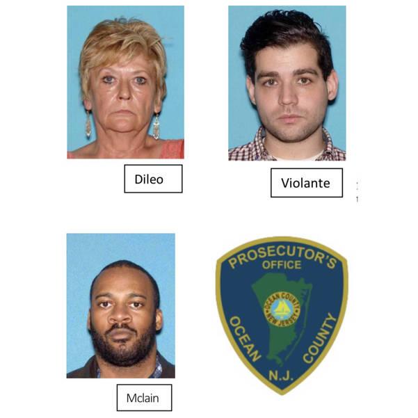 Photos Provided by Ocean County Prosecutor's Office