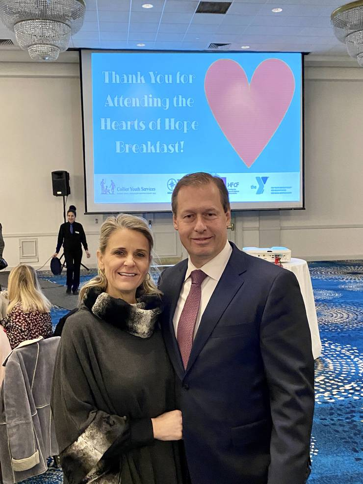 Four Local Nonprofits Join to Make a Stronger Impact for Third Annual Hearts of Hope Breakfast: Collier Youth Services, Hope for Children Foundation, NJ, FCS, and YMCA of Greater Monmouth