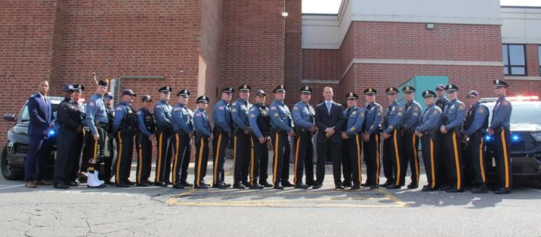 Newton Chief of Police Robert Osborn Retires