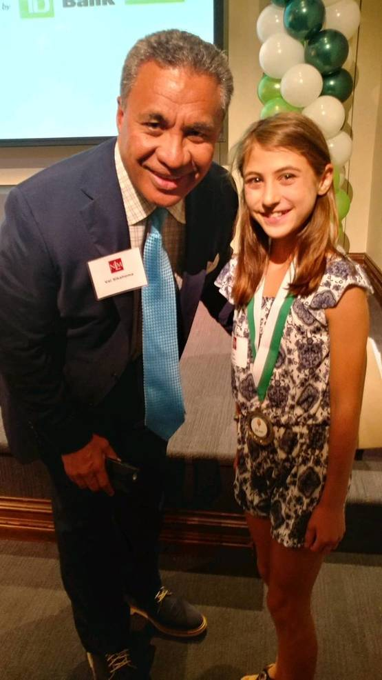 Tamaques School Student Wins 'Young Heroes Award'