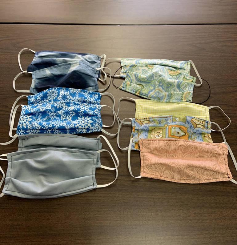 South Plainfield Senior Center Makes Homemade Fabric Masks for Seniors and Community