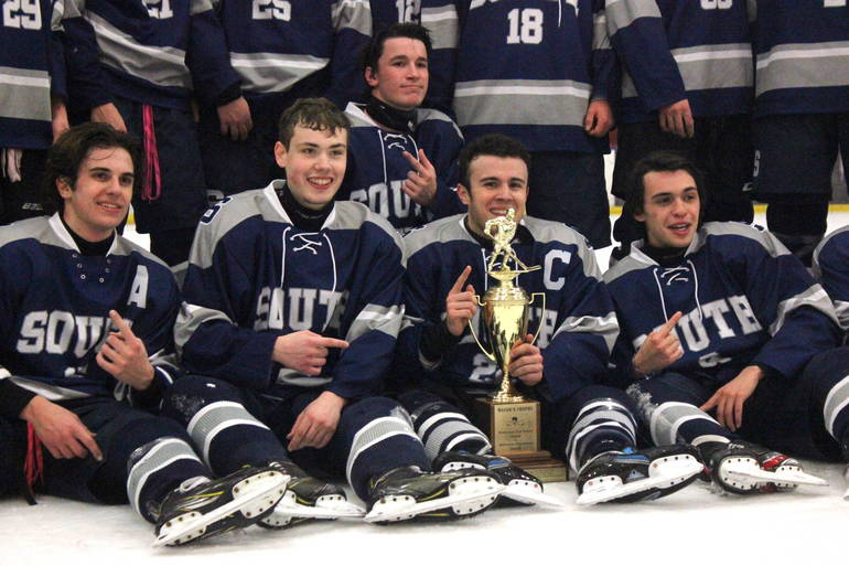 Ice Hockey: Late Goals by Cavendish, Volpi Lead Middletown South to Mayor's Cup