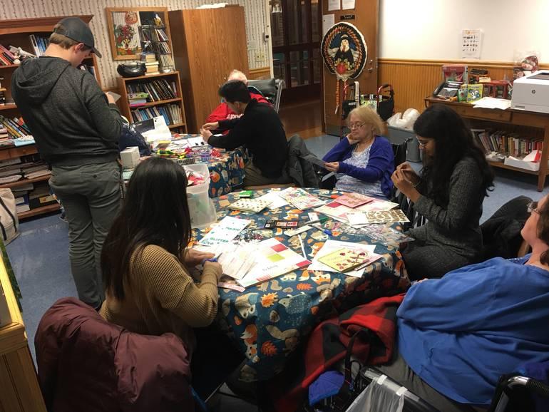 Seniors With Skills visits