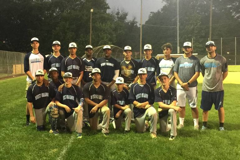 WOHS Summer Baseball Team Silver Tourney Champs