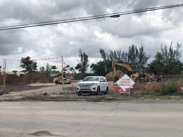 Amazon has purchased land in the Coral Springs corporate park.