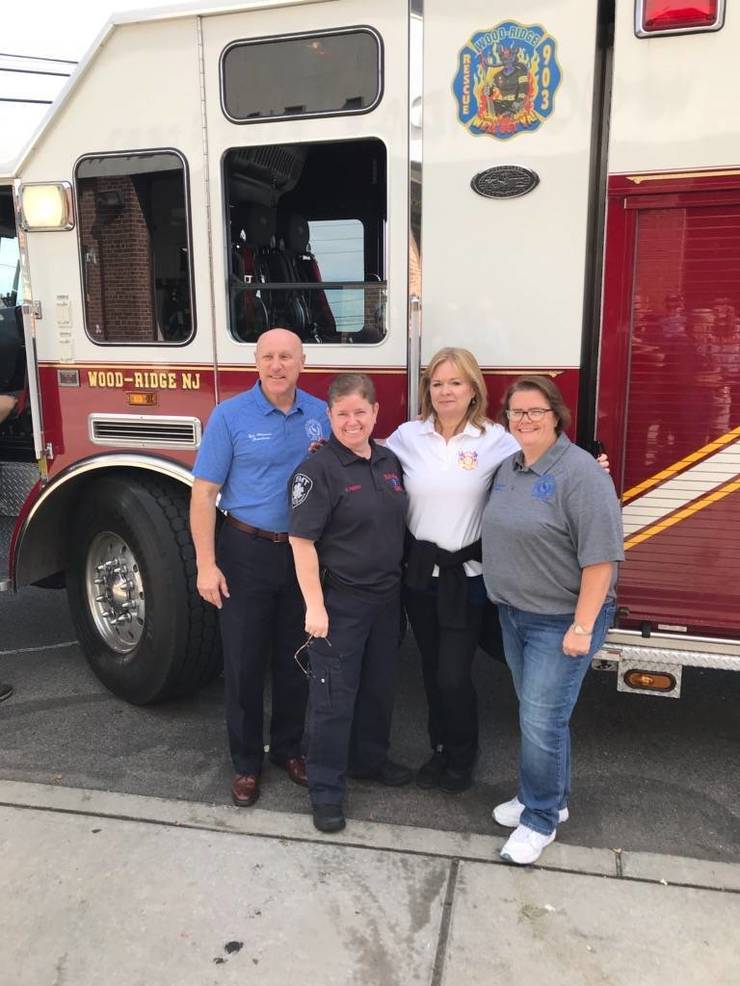 Wood-Ridge Fire Department Holds Annual Fire Truck Rides for Children