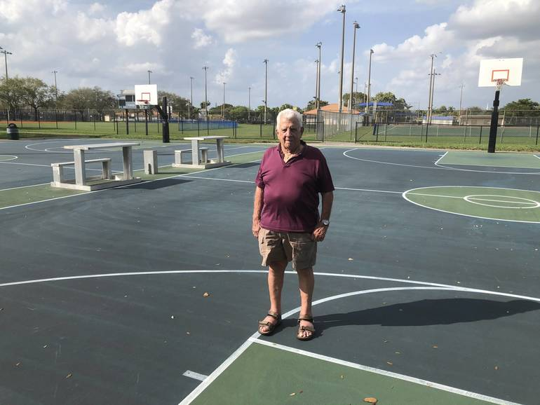 Angelo Prisco at Mullins Park in Coral Springs