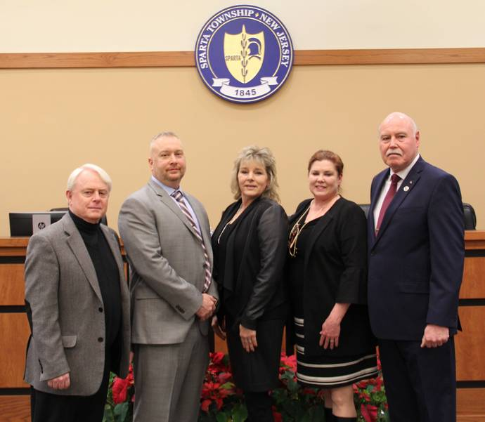Sparta Township Council members 2018