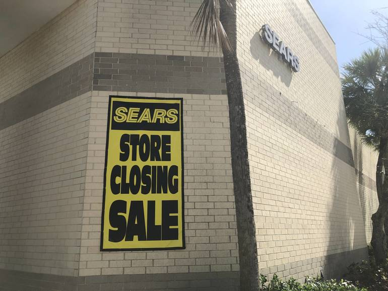 Sears To Close in Coral Springs Mall