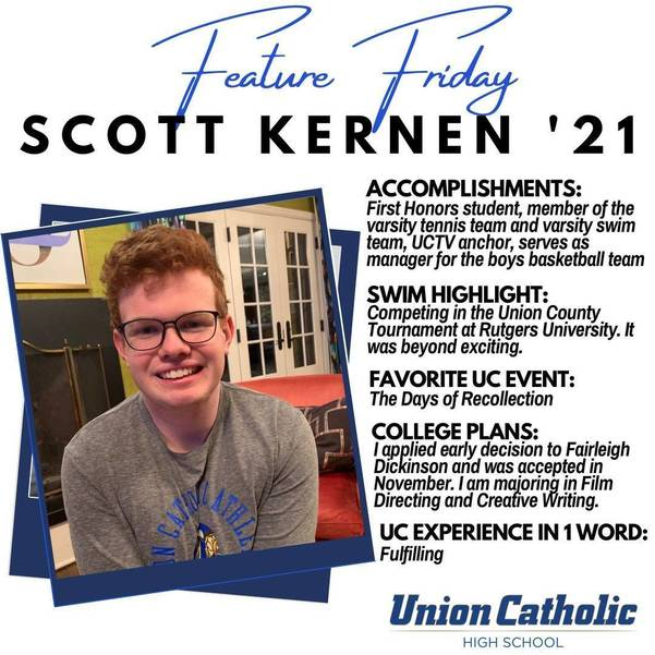 Scott Kernen Has Made His Presence Felt at Union Catholic