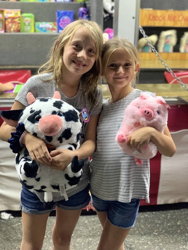 Young prize winners at the St. Bart's Italian Festival in Scotch Plains