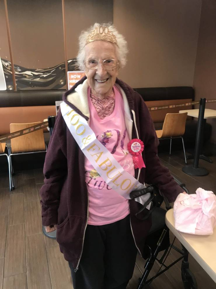 Happy 100th Birthday to Betty Goveia