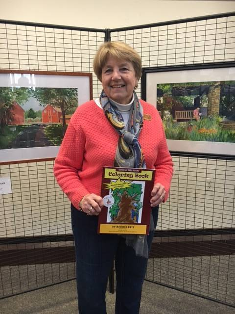 Linda Arnold, artist of the year