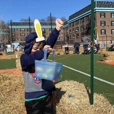 Hoboken Grace Hosts Safety-Conscious Easter Egg Hunt
