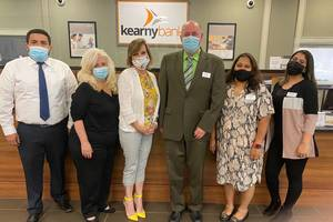 At its Caldwell branch, community focus  is central to everything Kearny Bank does