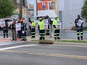 PMUA Frontline Workers Rally for Higher Wages in Plainfield (Video)