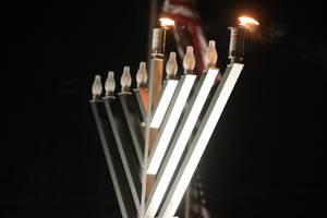 Yorktown Celebrates Chanukah with Menorah Lighting