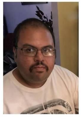 Victor Sarkar, 35, was last seen on Sunday, February 21.