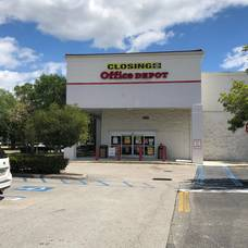 Office Depot store at 651 N. University Drive in Coral Springs.