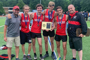Somers Boys Track Takes Second at Sectionals