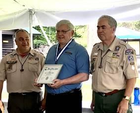 Boy Scouts of America Bestow Silver Beaver Award to Michael Hart