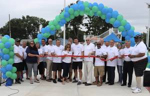 Ribbon Cutting Officially Marks Completion of South Plainfield Community Pool