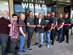 New Auto Detail Center Cuts Ribbon for Springfield Grand Opening