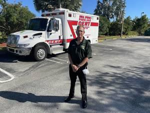 Joe Chalom is program chief of Coral Springs Parkland Community Emergency Response Team (CERT).