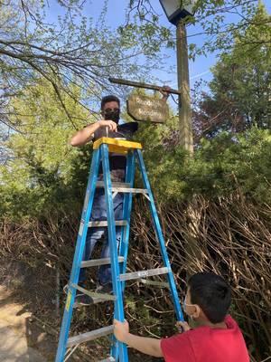 Fair Lawn BSA Troop 53 Complete Volunteer Service Project in Radburn R Park
