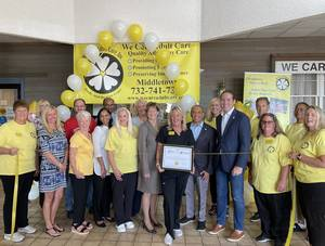 Middletown's We Care Adult Care Celebrates Successful Re-Opening With Ribbon Cutting
