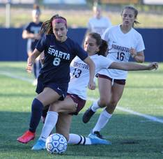 Sparta High School Girls Soccer Beats Morristown Stays Undefeated