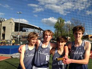 Chatham Boys 1600 Relay Sets School Record in Taking Gold at the Morris County Relays; Dutton 1:58.3 in 800 of Sprint Medley
