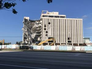 Big Chunk of Coral Springs Financial Plaza Demolished Over Weekend