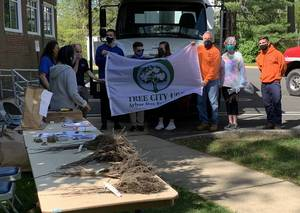 Arbor Day Tree Planting in Springfield