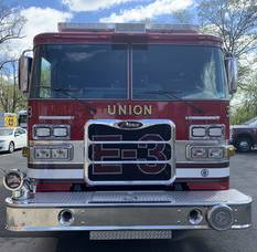 Union Gets a New Fire Engine