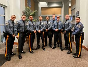 Sparta Police Department's Newest Officers Introduced to Township Council