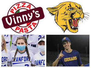 Vinny's Pizza & Pasta Cranford Senior Athletes of the Week: Mia Markase & Rob Salvatore
