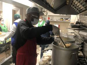 Hope and Help at St. John's Soup Kitchen on Christmas Eve