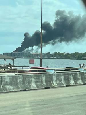 Nassau Bay Fire Update