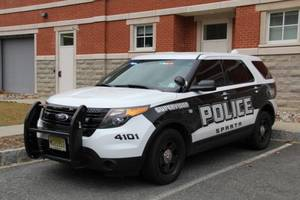 Sparta Police car