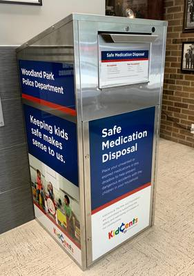 Woodland Park Rx Drop Box Makes National Clean Out Your Medicine Cabinet Day Easy