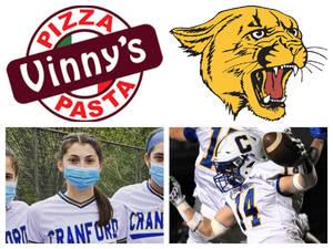 Vinny's Pizza & Pasta Cranford Senior Athletes of the Week: Ava Manfra & Jake Chapman