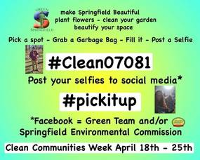 Springfield Green Team Spearheads Townwide Cleanup Effort