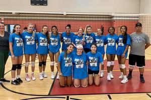 Scotch Plains-Fanwood Girls Volleyball Defeats Westfield for Summer League Title