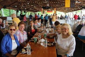 SLIDESHOW: Clark Seniors Enjoy BBQ Hosted by Mayor Bonaccorso Monday