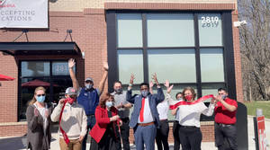 VIDEO: No April Fooling! Today is Finally Hazlet Chick-Fil-A  Day! Grand Opening Celebrated With Ribbon Cutting.