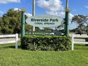 Riverside Park at 205 Coral Ridge Drive in Coral Springs.