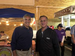 Gubernatorial Candidate Jack Ciattarelli Visits Clark UNICO's Italian Feast