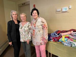 A Wonderful May Meeting for St. Mary's Martha Mary Guild in Colts Neck, Collection for Collier Youth Services.
