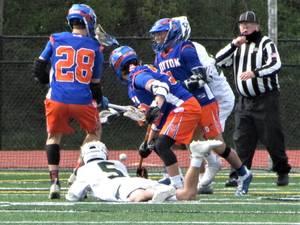 Boys Lacrosse: Dayton Overpowers Weehawken, 20-0